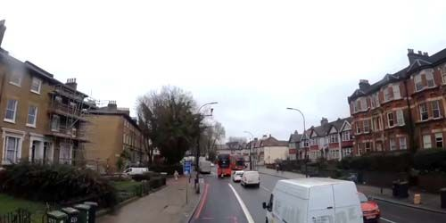 Webcam London - Bus Route 177