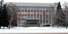Webcam Biysk - View of the city administration