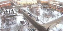 Webcam Irkutsk - Fair and square on the street of the Siberian partisans