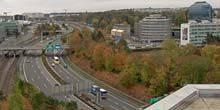 Webcam Geneva - Route near the international airport