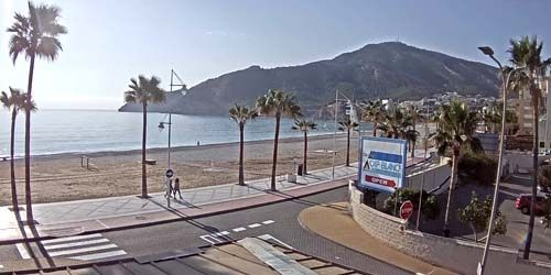 Webcam Benidorm - Albir Beach, Parc Natural de la Serra