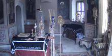 Webcam Moscow - Altar in the church of the Holy Apostles Peter and Paul