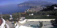 Webcam Sorrento - Gulf of Naples from Aminta Hotel