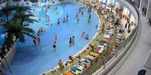 Pool in the water Park Akvamir Novosibirsk