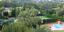 Webcam Palma (Mallorca Island) - The territory of the hotel Sheraton Mallorca Arabella Golf