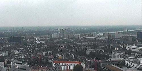 Webcam Dusseldorf - View of the city from the Arag tower