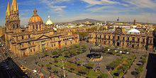 Webcam Guadalajara - Cathedral and Plaza de Armas
