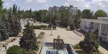 Webcam Kerch - fountain near the house of culture in Arshintsevo