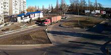 Webcam Pervomaisk - The ring in front of the ATB