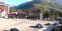 Webcam Nalchik - Parking on the Glade Azau