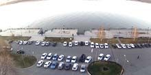 Webcam Astrakhan - Parking in front of the AZIMUT Hotel