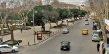 Webcam Istanbul - Road traffic on Baghdad Street