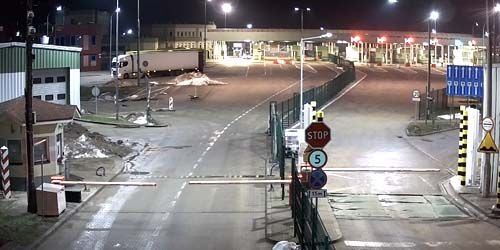 Webcam Kaliningrad - Bagrationovsk - customs post of the checkpoint