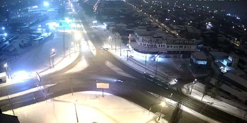 Webcam Kharkov - Barabashov market and Kirov village from a height
