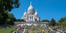 Webcam Paris - Basilica Sacre Coeur