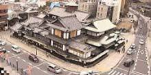 Webcam Matsuyama - Ancient bath with thermal water