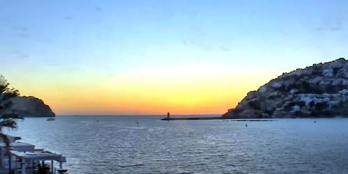 Webcam Palma (Mallorca Island) - Port d'Andrich, panorama of the bay