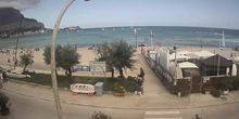 Webcam Palermo (Sicily) - Panorama of the bay in Mondello