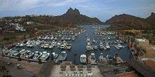 Webcam San Carlos Nuevo Guaymas - Beautiful bay with yachts