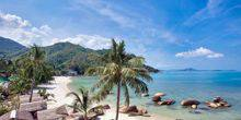 Webcam Samui - Sandy beach at Crystal Bay Yacht Club