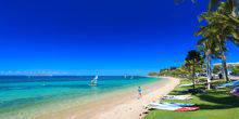 Beach on the beach Noumea