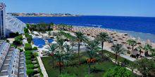 Webcam Sharm El-Sheikh - The beach of the hotel Sheraton Sharm Resort