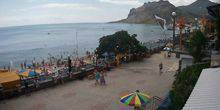 The beaches on the coast Koktebel
