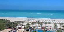 Webcam Abu Dhabi - Persian Gulf Beach