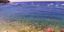 Webcam Mali-Losinj - A beach with clean water