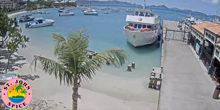 Webcam Cruz Bay - Shipyard with beaches