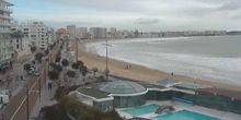 Pools and beaches on the shore of the Bay of Biscay Les Sables-d'Olonne