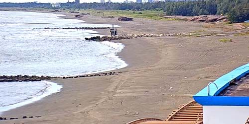Webcam Tainan (island of Taiwan) - Beaches on the coast