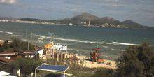 Webcam Pontevedra - Beaches, panorama of mountains