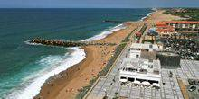 Webcam Anglet - The coast with its beaches