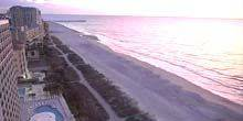 Webcam Myrtle Beach - Beaches on the Atlantic coast