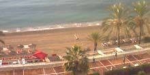 Webcam Marbella - Promenade with beaches