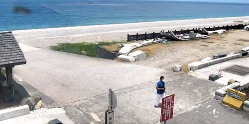 Webcam Taipei - Beachfront promenade in Hualien