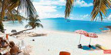 The most beautiful beach in the world Samui