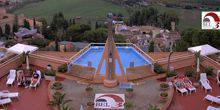 Webcam Palermo (Sicily) - Swimming pool with terrace in hotel Bel 3
