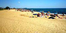 Webcam Feodosia - The beaches of the village of riverside