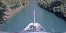 Webcam Berne - View from the deck of the pleasure boat MS Berner Oberland