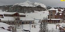 Webcam Mountain village - The hotel area is Big Sky Resort