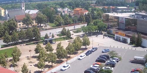 Webcam Zlin - Supermarket BILLA in Otrokovice
