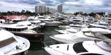 Webcam Miami - Pier with boats