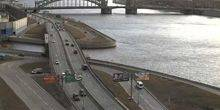 Webcam Saint Petersburg - Bolsheokhtinsky bridge
