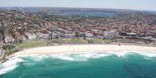 Webcam Sydney - View of the beach Bondi beach