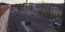 Webcam Ogulin - The central square and the boulevard