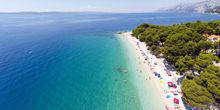 Webcam Makarska - Sea view in Brela