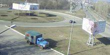 Webcam Pervomaisk - Junction before the bridge
