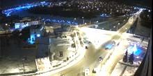 Webcam Tyumen - Chelyuskintsev Bridge over the Tura River